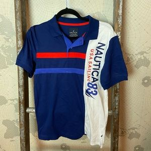 Nautica polo GUC boys Large 14/16